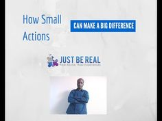 How Small Actions Can Make A Big Difference | JBR Vlog