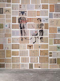 'EKA-04 Biblioteca Mural Wallpaper by Ekaterina Panikanova. @2Modern'