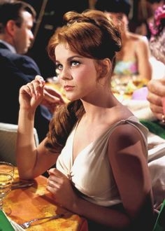 Ann-Margret. First saw her in Bye Bye Birdie... loved her ever since.