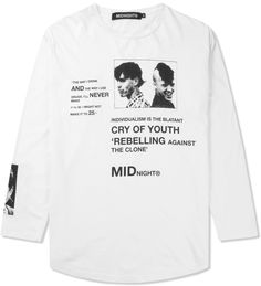 White Rebel L/S T-Shirt