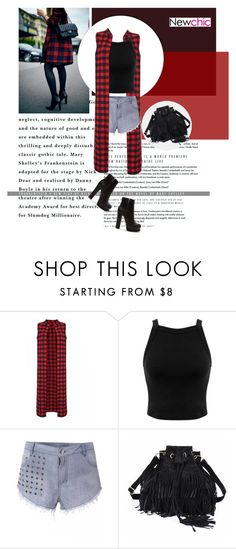 """""""Newchic I/24"""" by amra-mak ❤ liked on Polyvore featuring Miss Selfridge, Forever 21 and newchic"""