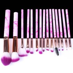 Natural Eyeshadow, Natural Makeup, Beauty Make Up, Beauty Care, Natural Brushes, How To Apply Makeup, Makeup Brush Set, Beauty Essentials, Kind Mode