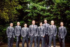 The Groom & his crew! Wedding Planning by Save the Date Weddings and Events Jessica + Adam Wedding 9.21.13 Photo By Once Like a Spark Photography