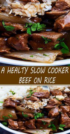 Crockpot Dishes, Crock Pot Slow Cooker, Crock Pot Cooking, Beef Dishes, Food Dishes, Crockpot Meals, Quick Dinner Recipes, Entree Recipes, Healthy Beef Recipes