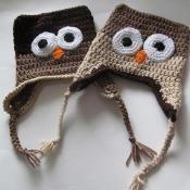 Owl Hat - via @Craftsy