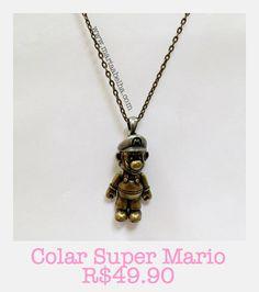 Cola Mario! www.mariaabelha.com #mariaabelha