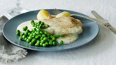 Lipeäkala valkokastikkeen kanssa - Kala, Main Courses, Eggs, Fish, Breakfast, Christmas, Main Course Dishes, Morning Coffee, Xmas