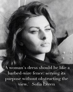 Sofia Loren's quote