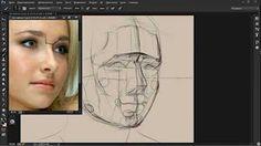 Как достичь схожести при рисовании Портрета на 100% - YouTube