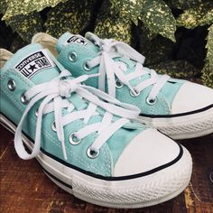 d161eeaa602c Shop Women s Converse Blue size 8 Sneakers at a discounted price at  Poshmark.