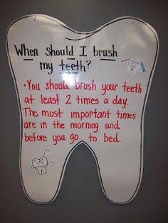 Cute for dental health