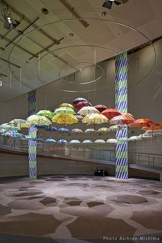 """Suzuki Masaru umbrella exhibition"""