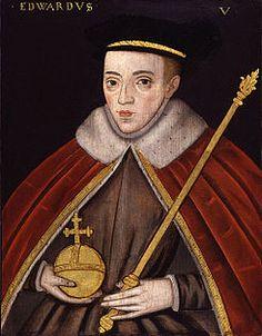 Eduardo V de Inglaterra (Abadía de Westminster, 4 de noviembre de 1470 - 6 de julio de 1483) era el primogénito varón del rey Eduardo IV y de Isabel Woodville. Nació en la Abadía de Westminster, donde su madre se había refugiado de las huestes de Enrique VI.