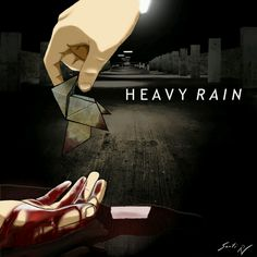 HEAVY RAIN Origami Killer by santi yo - Shares a similar coloring style to my game, and keeps up a nice film-noir looking style!