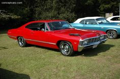 Chevrolet impala 1967. Had one of these, but it didn't look that good.