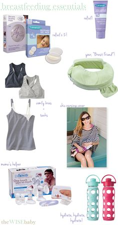 Breastfeeding isn't always easy but these essentials can help make things go more smoothly!