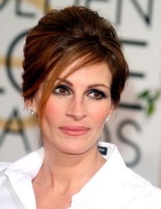 Julia Roberts www.creative.es #peinados #recogidos