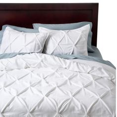 This comforter only in grey... http://www.target.com/p/threshold-pinched-pleat-comforter-set/-/A-14332296