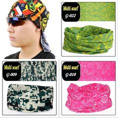 Fashion Multi-color Casual Magic Sports Headscarf  Cotton Blend multi-color printed headband. Do you like it? 14% off NOW! 8 colors are available. Get yours at>>https://goo.gl/o6K3jg