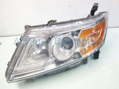 2011 Honda Odyssey Lamp Driver Headlight, Light Scratch Replacement part for sale from car with the engine. 2011 Honda Odyssey, Car, Stuff To Buy, Automobile, Cars