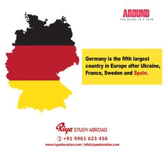 Study abroad in GERMANY!!! Visit our website for more information http://riyaeducation.com/contact/ #riyastudyabroad