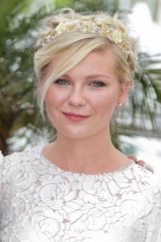Sparkle Headbands and Barrettes :: Actress Kirsten Dunst  ||  ModernSalon.com