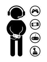 gamer vinilos