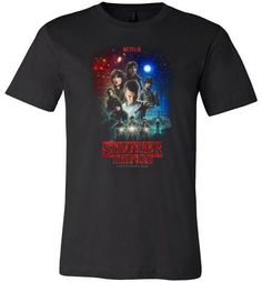 Stranger Things Netflix Original Sci Fi T-shirt  T-shirts available in Men's and…