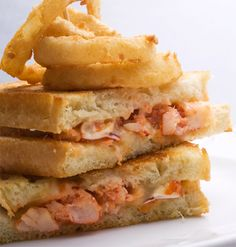 Lobster grilled cheese (lobster meat, havarti, sourdough, thyme, tarragon butter, optional sliced tomato)