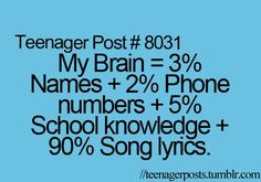 """It says """"Teenager"""" but pretty sure this applies to me too.."""