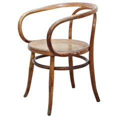 Thonet 209 Armchair by Auguste Thonet for Thonet, circa 1900 1