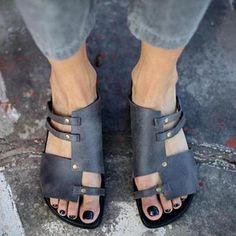 95febd17c7ee Summer Soft Comfortable Flat Sandals Slippers For Women