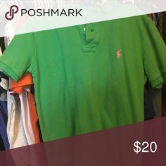 Polo Shirt Green Polo Shirt Polo by Ralph Lauren Shirts & Tops Polos