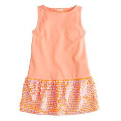 Girls' Polly paillette dress
