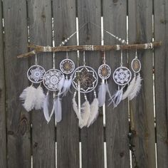 Wedding Dreamcatcher - White Dreamcatcher - Giant Dreamcatcher ...