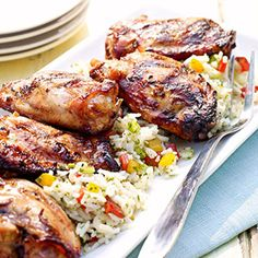 Try these bold flavored citrusy #tequila #chicken thighs!