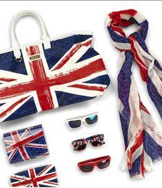 Union Jack Collection Dots Fashion, Union Flags, London Calling, Flag Design, Union Jack, British Style, Birthday Gifts, Polka Dots, Retro