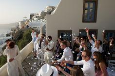 Intimate wedding • Santorini