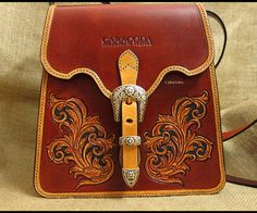 "I always liked vintage and antique leather things and I keep experimenting on giving my leather goods that ""old and antique"" style.. I do not mean to make..."