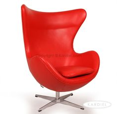 I will have one of these one day....    Red Egg Chair | Round egg chair | Furniture
