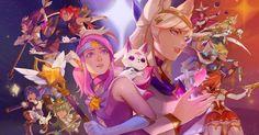 Soraka, Syndra, Miss Fortune, Ahri e Ezreal estrelam o novo conto. A Riot continua apostando em mais e mais histórias complementares para acrescentar ainda mais conteúdo neste universo deLeague of Legends, há um certo tempo atrás a empresa lançou as primeiras skins dasGuardiãs Estelares, uma temática meio parecida com Sailor Moon. Agora, para divulgar as …