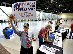 VETS FOR TRUMP!!! HOOYAH!!! Trump 19 Points Ahead of Clinton with Active Military & Veterans ~@guntotingkafir GOD BLESS OUR VETS, GOD BLESS OUR TROOPS AND GOD BLESS AMERICA!!!