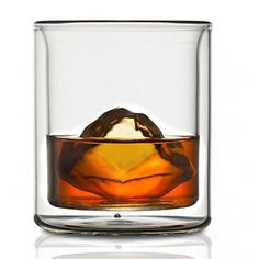 CoastLine Kitchen Double Wall Whiskey Glass Set Scotch Cocktail Glasses Set of 2 67 Ounces Each Manhattan Style with Reduced Condensation Dishwasher Safe Insulated Glassware Tumbler ** Continue to the product at the image link. Liqueur Glasses, Whiskey Glasses, Whiskey Drinks, Glass Suppliers, Glass Coffee Cups, Thing 1, Scotch Whiskey, Latte Art, Whisky