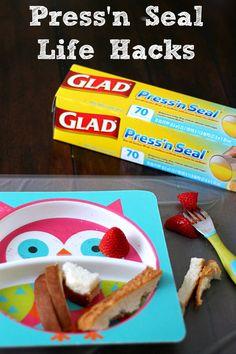 Life Hacks with Glad Press'n Seal. #pressnsealhacks #Pmedia #ad @walmart @gladproducts
