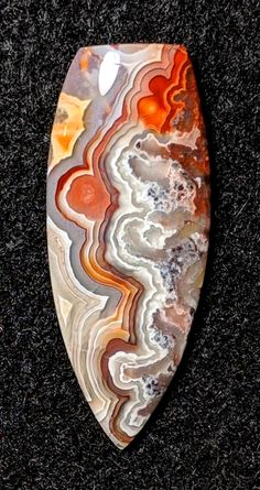 Minerals And Gemstones, Rocks And Minerals, Mineral Stone, Crazy Lace Agate, Rocks And Gems, Stones And Crystals, Gem Stones, Gems Jewelry, Agates