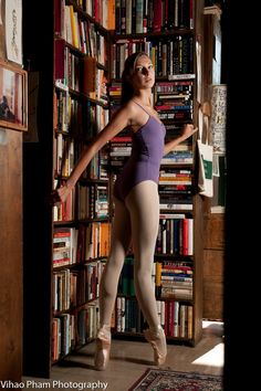 Cool...ballet and books. My kind of combo.