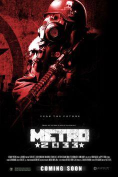 Metro 2033 Movie Poster by DarkestAdrenaline