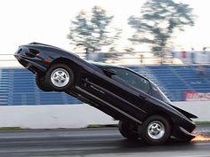 99 Trans Am wheelie Modern Muscle Cars, American Muscle Cars, Trans Am Ws6, Pontiac Cars, Pontiac Firebird Trans Am, Drag Cars, Drag Racing, Cool Cars, Chevy