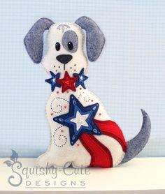 Dog Stuffed Animal Pattern -