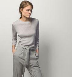 PULL CÔTELÉ - Pulls - Pulls & Cardigans - WOMEN - France - Massimo Dutti